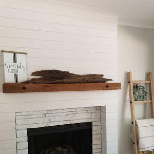 "Large 51"" x 10"" driftwood farmhouse peice"